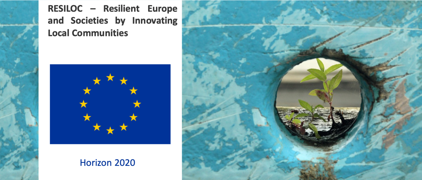 Project – RESILOC – Resilient Europe and Societies by Innovating Local Communities
