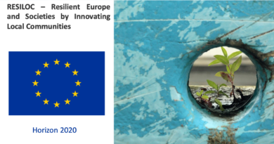 Progetto – RESILOC – Resilient Europe and Societies by Innovating Local Communities