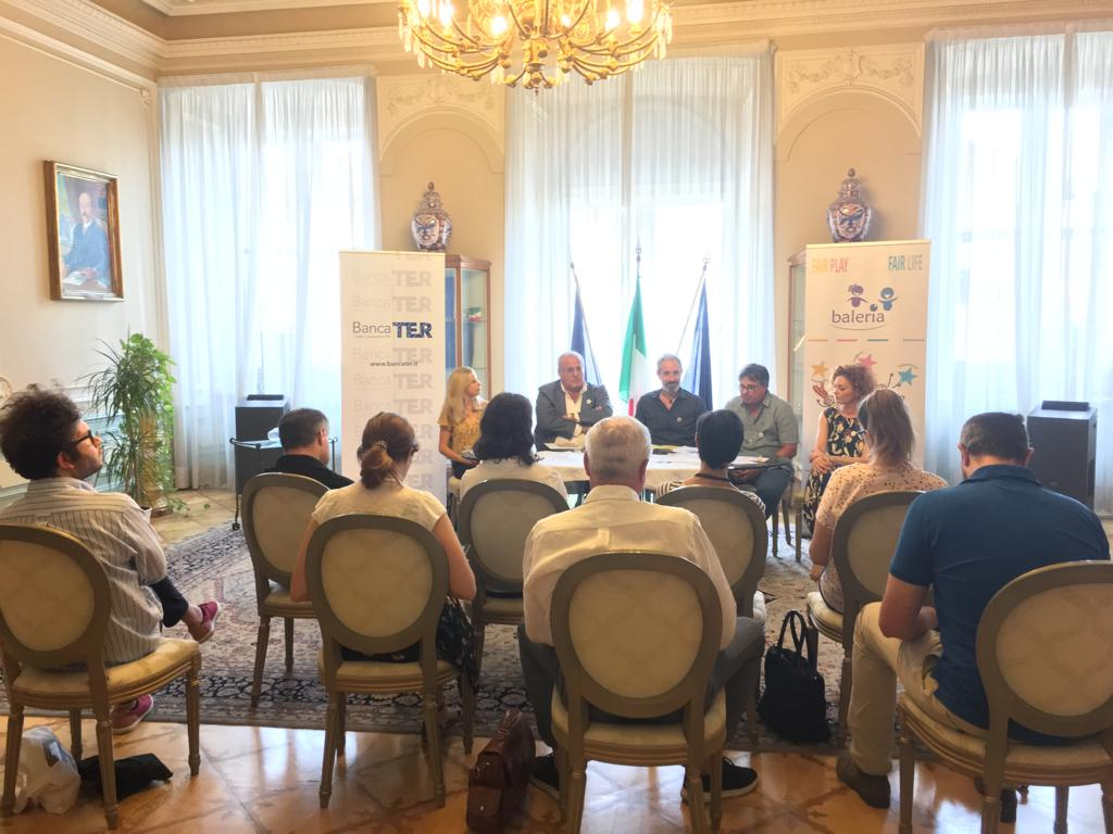 "Press Conference of the Baleria Campus within the ""Vittoria d'Estate"" event"