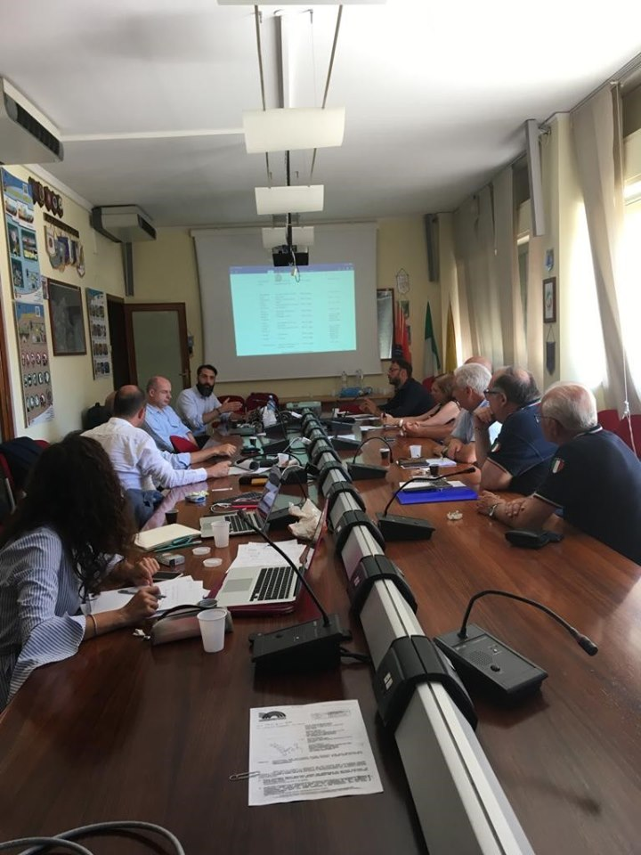 RESILOC WP2 – Meeting at the premises of the Regional Civil Protection Department of Sicily Catania (Regional Civil Protection Department of Sicily