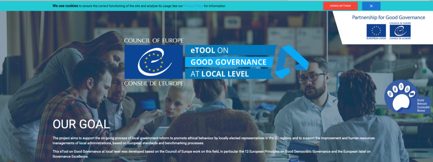 Progetto – Supporto allo sviluppo di una piattaforma di e-learning sulla buona governance a livello locale