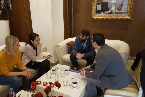 Coordination Meeting in Tirana