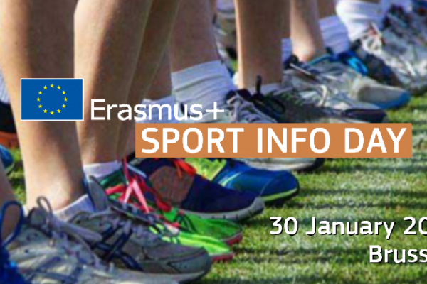 Erasmus+ Sport – Info Day 2020 – Bruxelles (Charlemagne Building)