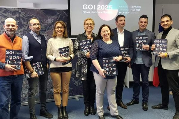 Official presentation of the GO! 2025 Candidacy in Ljubljana