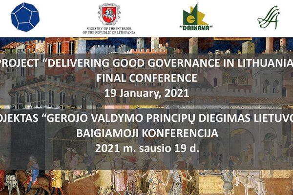 Il progetto di Buona Governance in Lituania: la conferenza finale