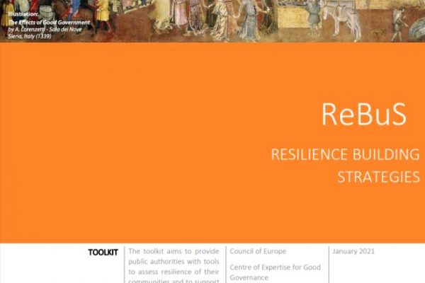 Publishing the ReBuS – Resilience Building Strategies Toolkit