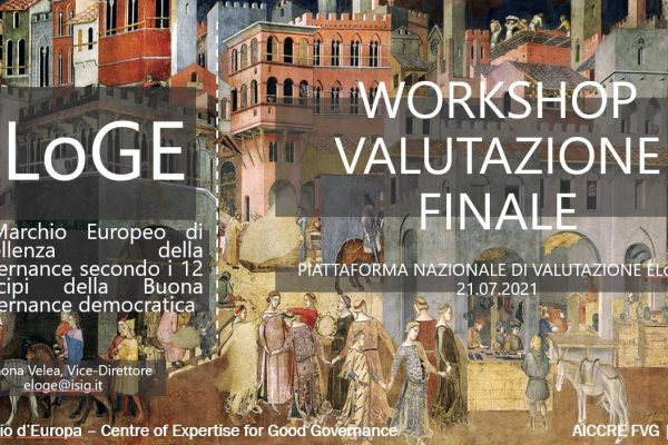The final evaluation of the results of the ELoGE FVG Programme